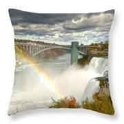 The Great Power Of Tesla Throw Pillow