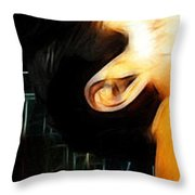 The Great Pretender 1 Throw Pillow