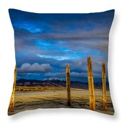 The Great Salt Lake Throw Pillow