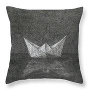 The Great Ship Throw Pillow