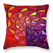 The Great Sphere Throw Pillow