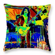 The Great Sun Jester Throw Pillow