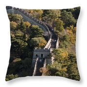 The Great Wall 629 Throw Pillow