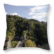 The Great Wall 649 Throw Pillow