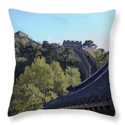 The Great Wall 682 Throw Pillow