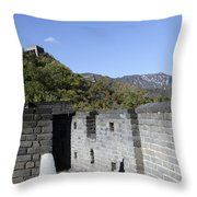 The Great Wall 684 Throw Pillow