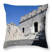 The Great Wall 724 Throw Pillow