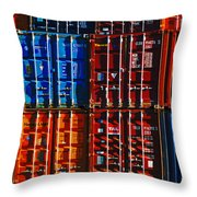 The Great Wall Of Christchurch  Throw Pillow
