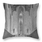 The Great Western Hall Leading Throw Pillow