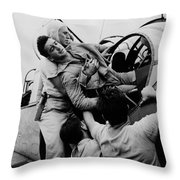 The Greatest Generation Throw Pillow