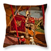 The Greatest Show On Earth -1 Throw Pillow