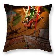 The Greatest Show On Earth -2 Throw Pillow