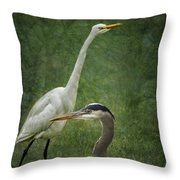 The Greats - Birds That Is... Throw Pillow