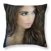 The Greek Goddess Throw Pillow