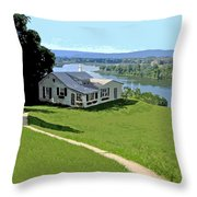 The Green Grass Of Home Throw Pillow