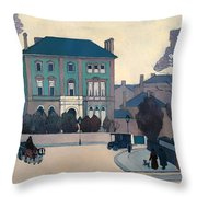 The Green House In St Johns Wood Throw Pillow