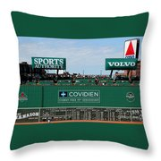 The Green Monster 99 Throw Pillow by Tom Prendergast