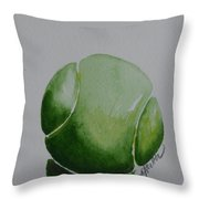The Green One Throw Pillow