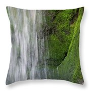 The Green Side Throw Pillow