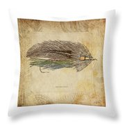 The Grey Ghost Throw Pillow