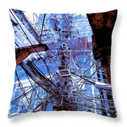 The Grid 2 Throw Pillow