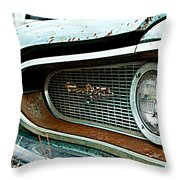 The Grill Throw Pillow