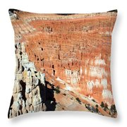 The Grotto At Bryce Canyon Throw Pillow