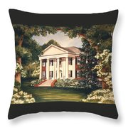 The Grove Tallahassee Florida Throw Pillow