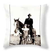 The Guardian Throw Pillow