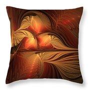 The Guardian Of Light Throw Pillow