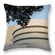 The Guggenheim Museum Throw Pillow