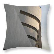 The Guggenheim Throw Pillow