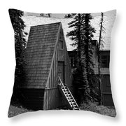 The Guide House At Paradise Throw Pillow