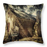 The Gullah Theater At Boone Hall Throw Pillow
