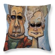 The Gundersons Take A Cruise Throw Pillow