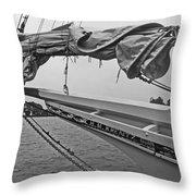 The H M Krentz Throw Pillow