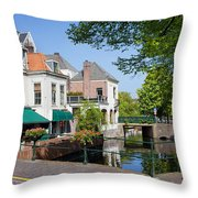 The Hague In The Netherlands Throw Pillow