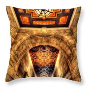 The Hallway Throw Pillow