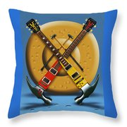 The Hammer Throw Pillow
