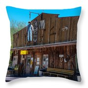 The Hanging - Apache Country Throw Pillow