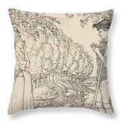 The Happy Agreement Throw Pillow