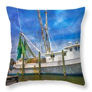 The Harbor II Throw Pillow