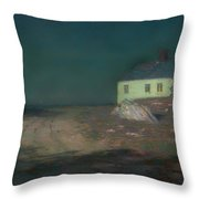 The Harbor Light Throw Pillow