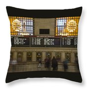 The Hartford Line Throw Pillow