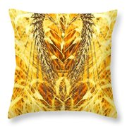 The Harvest Is Plentiful The Laborers Are Few Throw Pillow by PainterArtist FIN