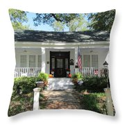 The Haunted Grove Home Throw Pillow