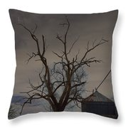 The Haunting Tree Throw Pillow