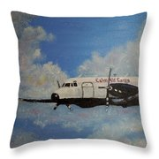 The Hawker Throw Pillow