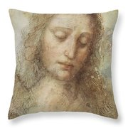 The Head Of Christ Throw Pillow