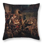 The Head Of The Deputy Jean Feraud 1759-95 Presented To Francois Antoine Boissy Danglas 1756-1826 Throw Pillow